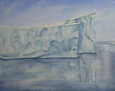 Painting - Greenland's Iceberg by Kelly Mills
