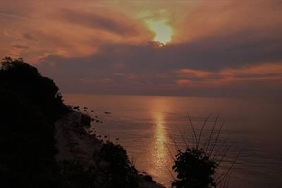 Photograph - Greenport Sunset by Karen Silvestri