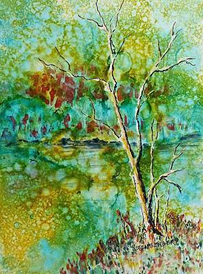 Painting - Greens Of Late Summer by Carolyn Rosenberger