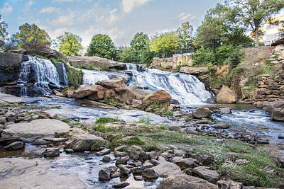 Photograph - Greenville Falls by Ricky Dean
