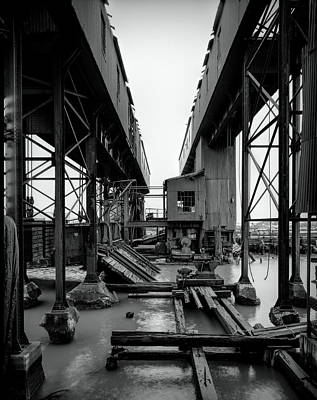 Photograph - Greenville Freight Rail Yard - New Jersey by Daniel Hagerman