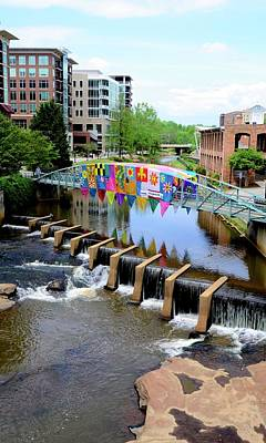 Photograph - Greenville River Walk by Corinne Rhode