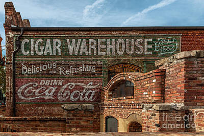Photograph - Cigar Warehouse II by Dale Powell