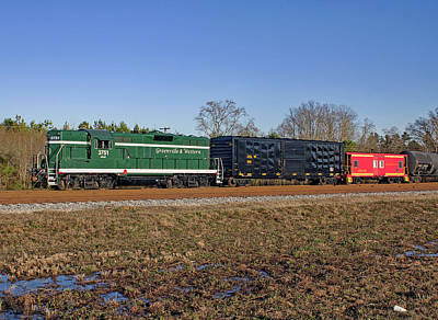Photograph - Greenville Western Railway 2013 B by Joseph C Hinson Photography