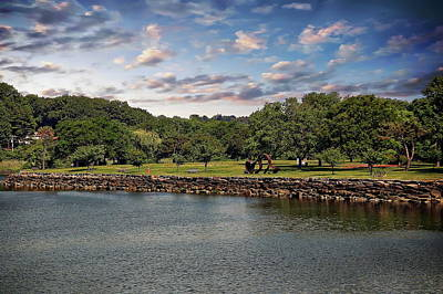 Photograph - Greenwich City Park by Anthony Dezenzio
