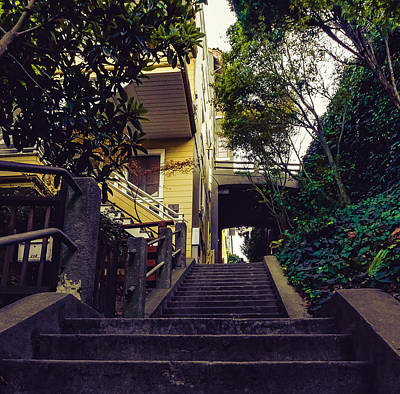 Photograph - Greenwich Steps by Nisah Cheatham
