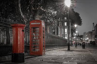 Post Box Photograph - Greenwich Street by Martyn Higgins