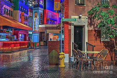 Photograph - Greenwich Street Ny Ny Las Vegas by David Zanzinger