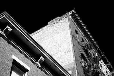 Photograph - Greenwich Village Angles by John Rizzuto