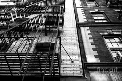 Photograph - Greenwich Village Architecture by John Rizzuto