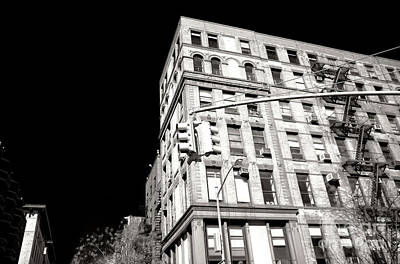 Photograph - Greenwich Village Corner Angles by John Rizzuto