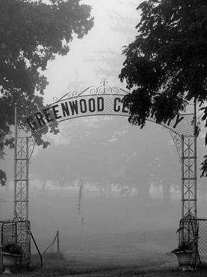 Photograph - Greenwood Cemetery by Wild Thing