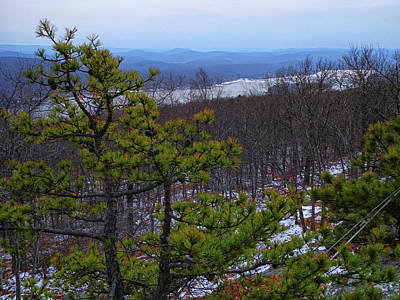 Greenwood Lake From The Appalachian Trail Art Print by Raymond Salani III