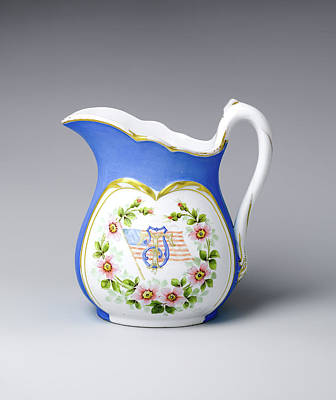 Photograph - Greenwood Pottery Pitcher 1861-1933 by Rospotte Photography