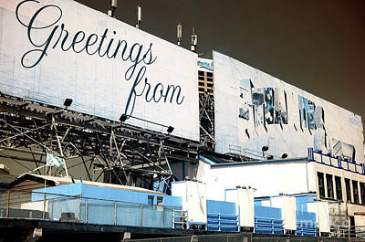 Photograph - Greeting From Atlantic City by John Rizzuto