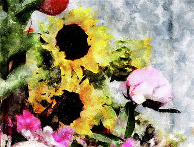 Digital Art - Greetings For A Sunny Day by Art Di