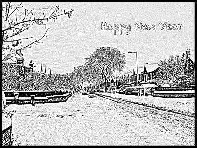 Photograph - Greetings For The New Year by Joan-Violet Stretch