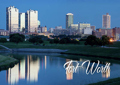 Photograph - Greetings From Fort Worth 092317  by Rospotte Photography