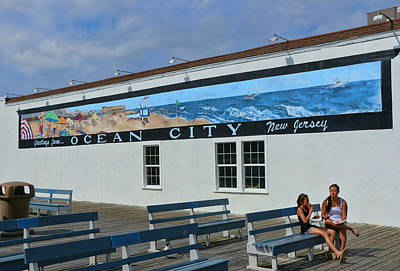 Photograph - Greetings From Ocean City New Jersey by Allen Beatty