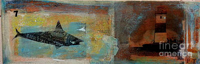 Mixed Media - Greetings From P-town by Mark Palmer