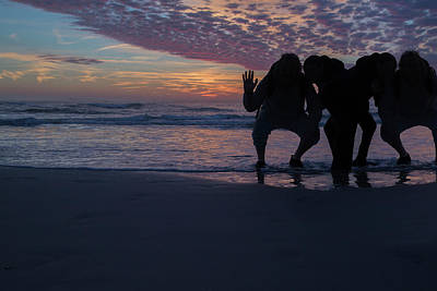 Good Energy Photograph - Greetings From Topsail by Betsy Knapp