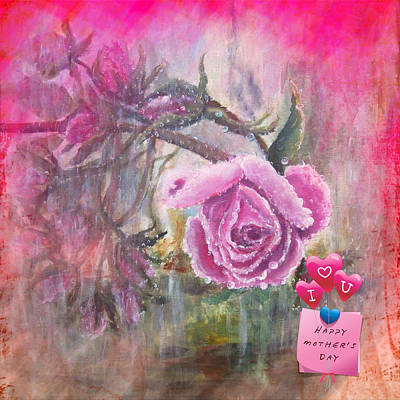 Painting - Greetings by Vesna Martinjak