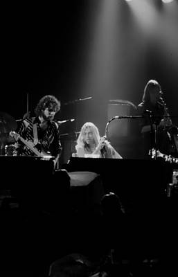 The Allman Brothers Photograph - Greg Allman  by Kevin Cable