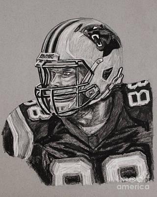 Super Hero Drawings Drawing - Greg Olsen Portrait  by Robert Yaeger