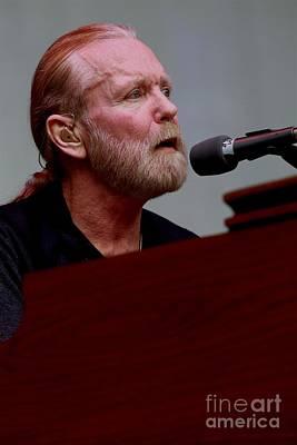 Photograph - Gregg Allman On The Farewell Tour by Concert Photos