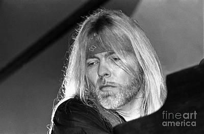 Photograph - Gregg Allman Up Close by Concert Photos