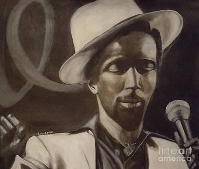 Painting - Gregory Isaacs by Isabel Honkonen