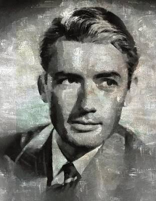 Celebrities Royalty-Free and Rights-Managed Images - Gregory Peck by Esoterica Art Agency