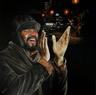 Painting - Gregory Porter by Pascal Martos