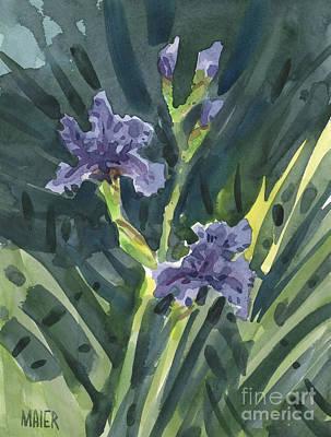 Greg's Iris Original by Donald Maier