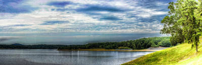 Photograph - Grenada Lake Panorama by Barry Jones