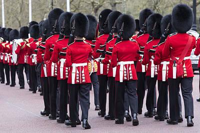 Changing Of The Guard Photograph - Grenadier Guards by David Pyatt