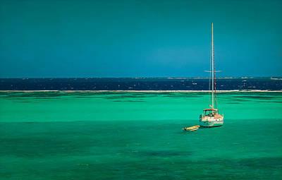Photograph - Grenadines Sailboat by Don Schwartz