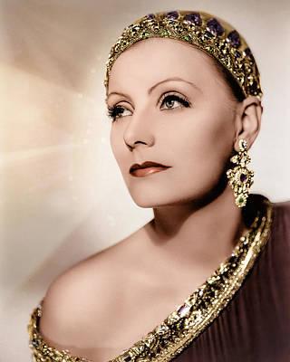 Digital Art - Greta Garbo - Mata Hari by Darlanne