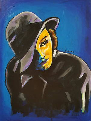 Wall Art - Painting - Greta Garbo by Stuart Glazer