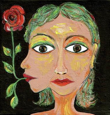Greta Garbo Painting - Greta by Sue Wright