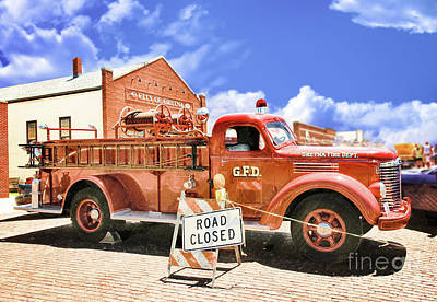 Photograph - Gretna Fire Dept. by John Anderson