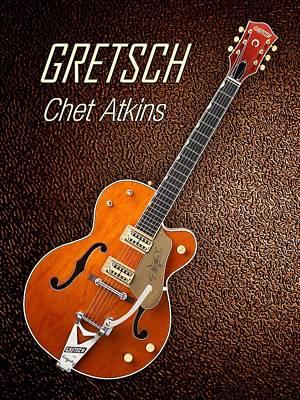Gretsch Photograph - Gretsch  Chet Atkins by Shavit Mason