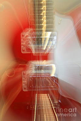 Photograph - Gretsch Guitar Abstract by Rick Rauzi