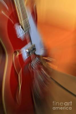 Photograph - Gretsch Guitar by Rick Rauzi