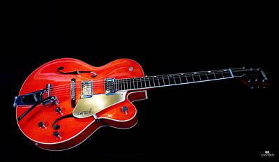 Gretsch Photograph - Gretsch Guitar by Russ Harris