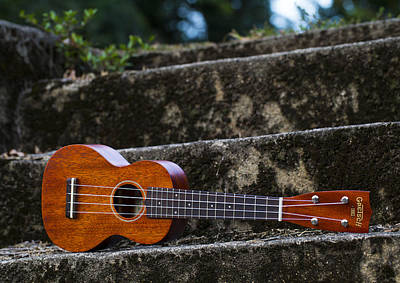 Photograph - Gretsch Ukulele by Keith May