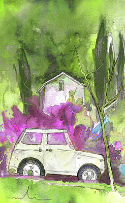 Painting - Greve In Chianti In Italy 02 by Miki De Goodaboom