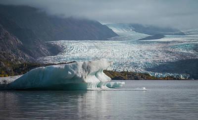 Photograph - Grewingk Glacier by Eva Lechner