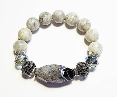 Jewelry - Grey Druzy by Diana Bursztein