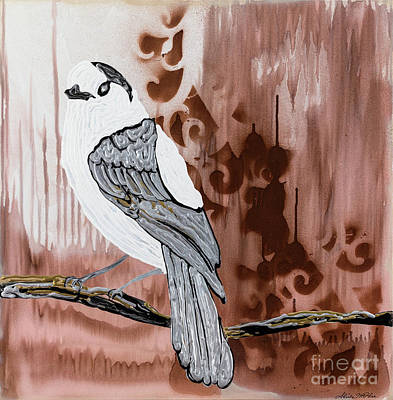 Painting - Grey Jay by Sheila McPhee